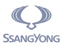 ssangyong Logo opaco