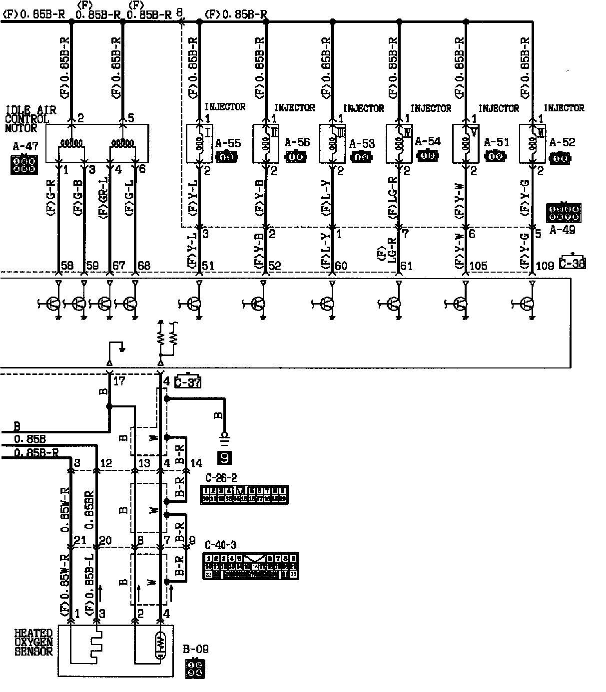 diagrama de cableado motor a  t  u2013 ais3d