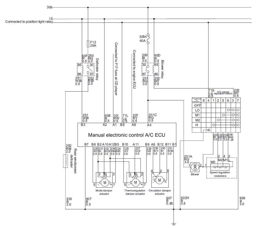 diagrama de cableado aire acondicionado  u2013 ais3d