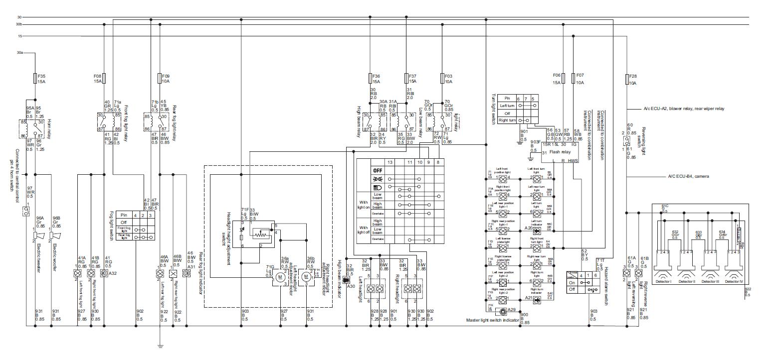 diagrama de cableado accesorios  u2013 ais3d